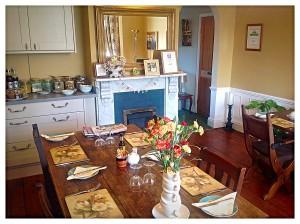 Cannara Bed and Breakfast - Malvern Breakfast room